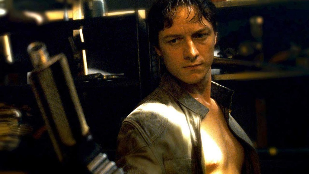 James McAvoy as Wesley Gibson.