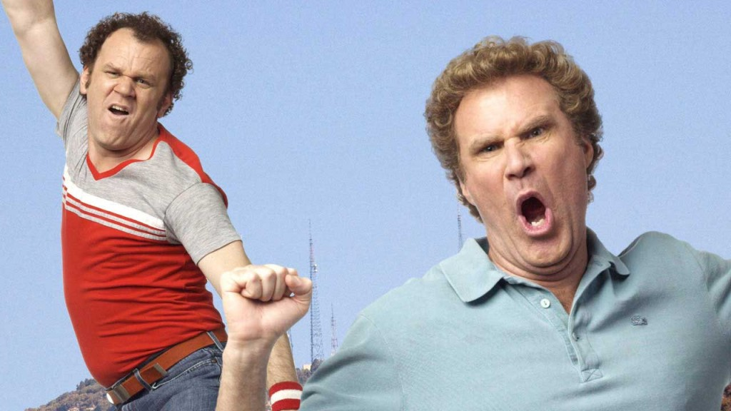 John C. Reilly as Dale and Will Ferrell as Brennan.