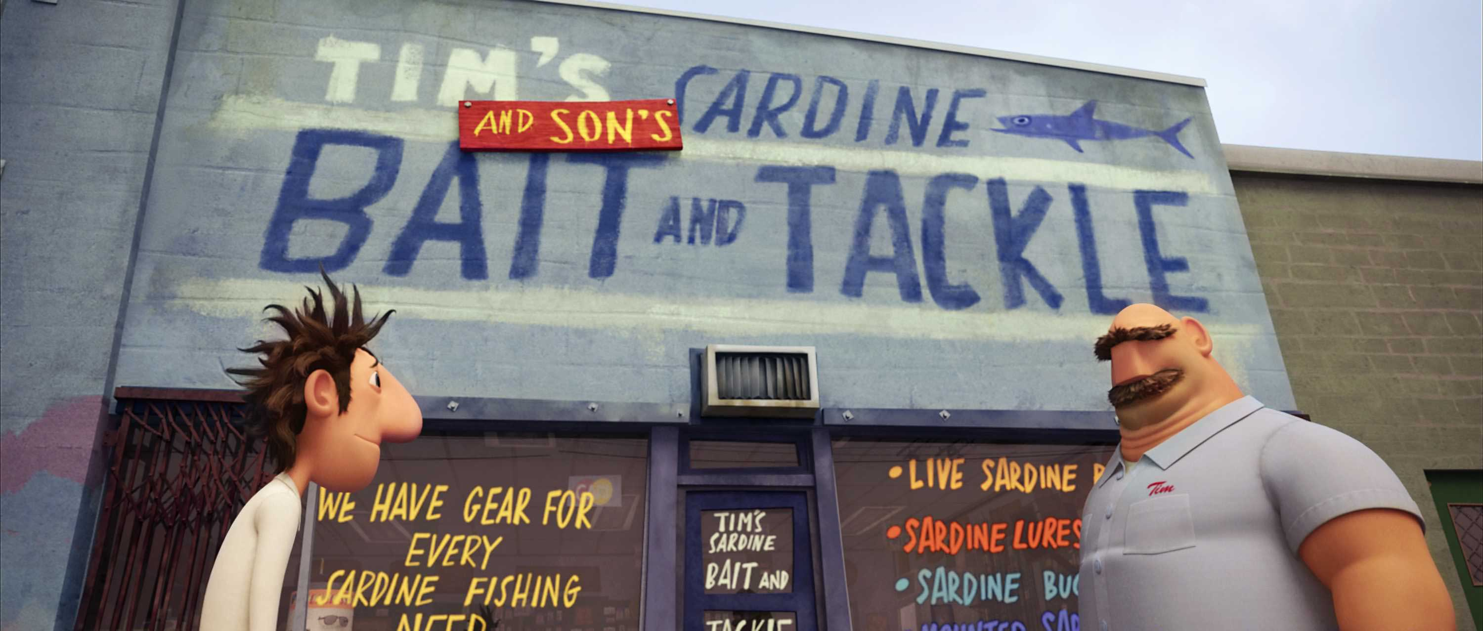 You load sixteen tons (of sardines), and what do you get?