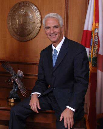 Charlie Crist. Wait, this guy's gay? I don't see it...