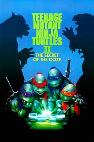 Teenage Mutant Ninja Turtles 2 DVD Cover